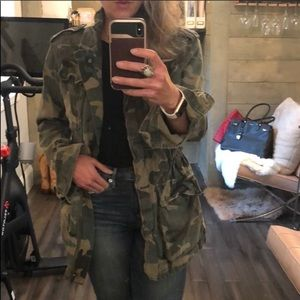 NWOT Free People Not Your Brothers Surplus Jacket